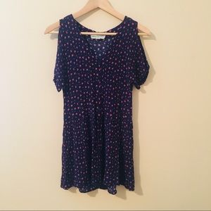 Staring At Stars UO   Button-Front Babydoll Dress